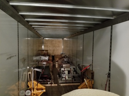 Almost done loading the truck.